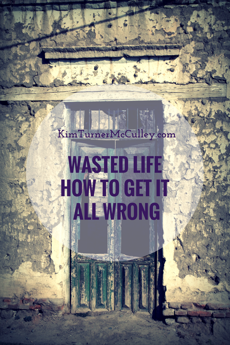Wasted Life: How to Get it Wrong KimTurnerMcCulley.com