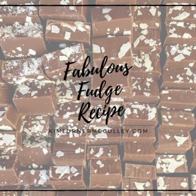 Fabulous Fudge Recipe