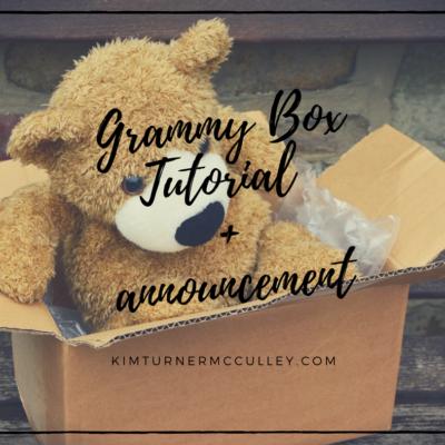 Grammy Box Tutorial + Announcement