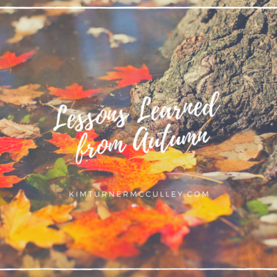 Lessons Learned From Autumn