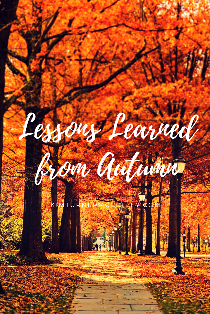 Lessons Learned from Autumn KimTurnerMcCulley.com