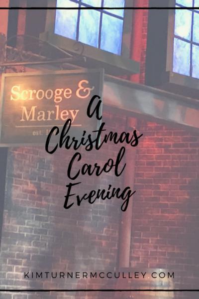 Christmas Carol Evening KimTurnerMcCulley.com