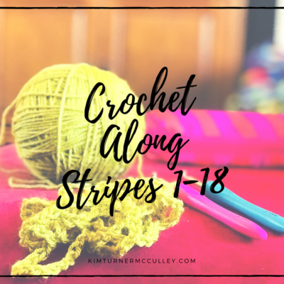 Woodland Stripes Crochet Along Stripes 1-18
