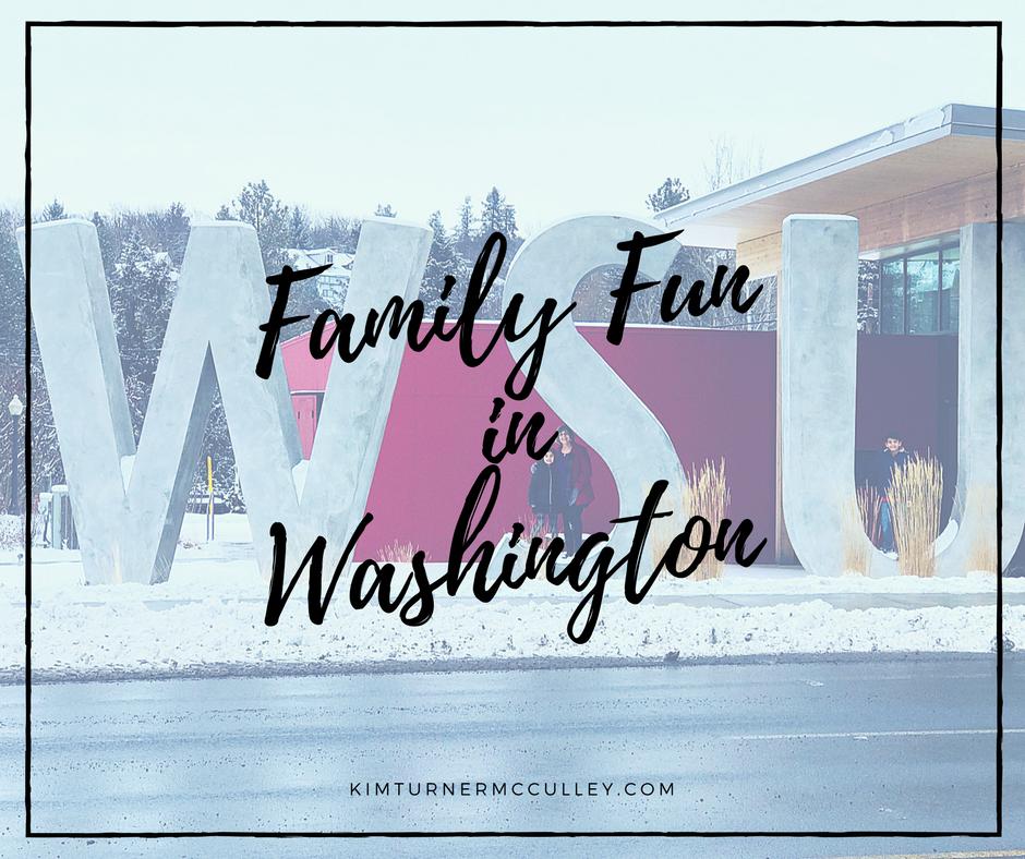 Family Fun in Washington KimTurnerMcCulley.com