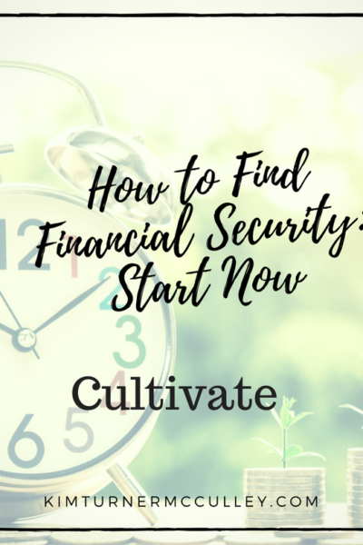 How to Find Financial Security: Start Now KimTurnerMcCulley.com