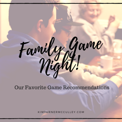 Family Game Night! Our Favorite Party Games