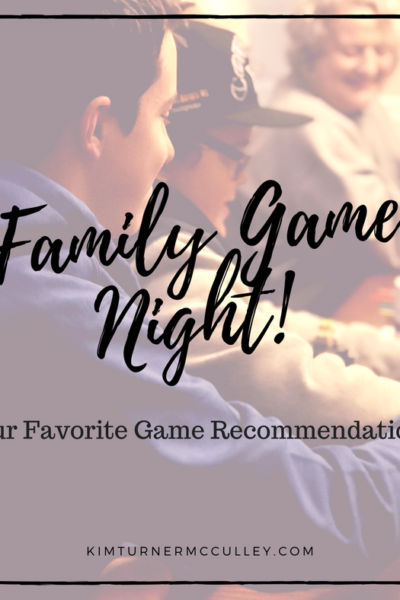 Family Game Night! Our Favorite Party Game Recommendations KimTurnerMcCulley.com