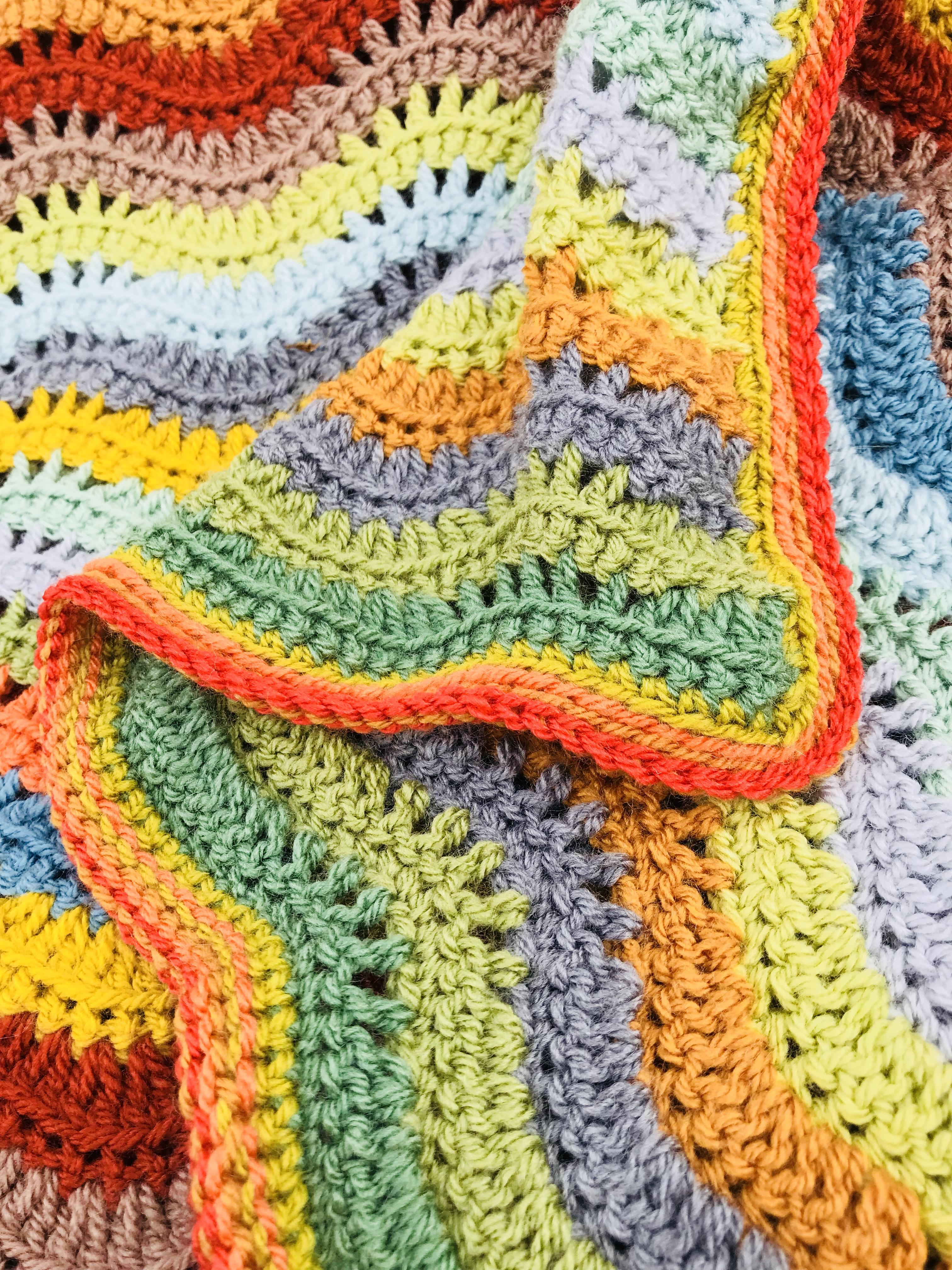 Woodland Blanket Crochet Along Ta-Da! ⋆ Kim Turner Mcculley